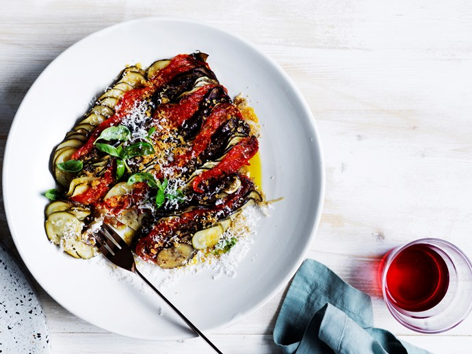 "[**Danielle Alvarez's summer vegetable tian**](https://www.gourmettraveller.com.au/recipes/chefs-recipes/summer-vegetable-tian-16622|target=""_blank"")"
