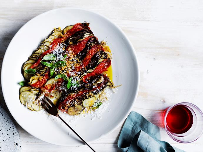 "**[Danielle Alvarez's summer vegetable tian](https://www.gourmettraveller.com.au/recipes/chefs-recipes/summer-vegetable-tian-16622|target=""_blank"")**"