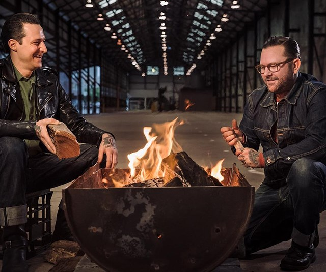 Elvis Abrahanowicz and Ben Milgate of Porteno, Sydney