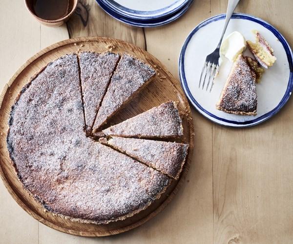 """[The Summertown Aristologist's rhubarb spelt tart](https://www.gourmettraveller.com.au/recipes/chefs-recipes/rhubarb-spelt-tart-16741 target=""""_blank"""")"""