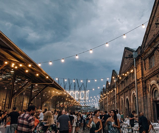 Carriageworks night markets
