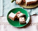 Hazelnut and chocolate swirl nougat