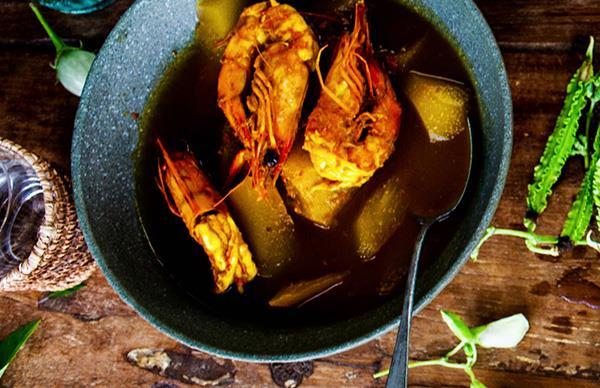 Sour orange fish curry