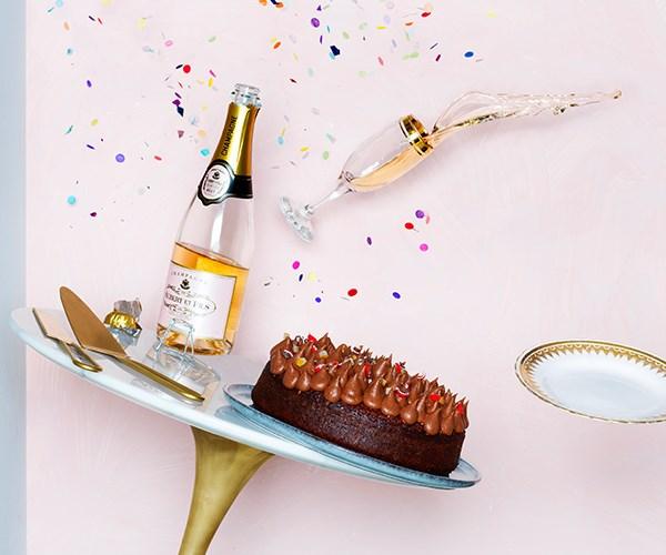Choc-orange cake with Jaffa buttercream