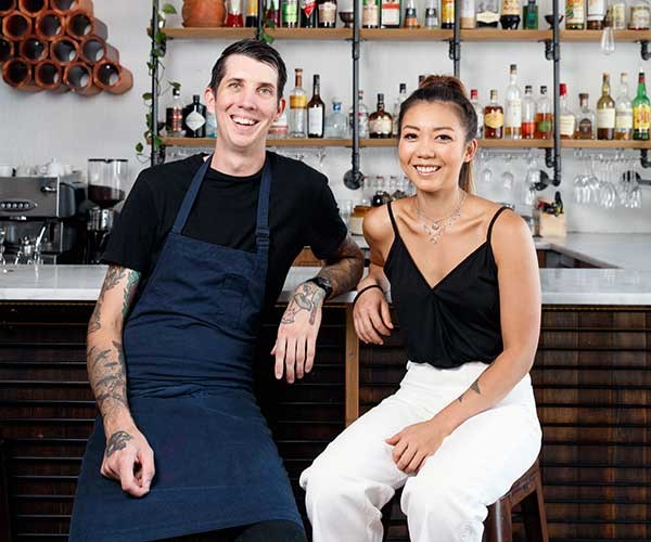 Hartyard's new owners Jarrod Walsh and Dot Lee