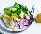 A simple vinaigrette for a salad