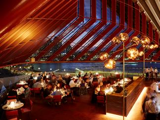The dining room at Bennelong