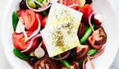 Jonathan Barthelmess's Greek salad