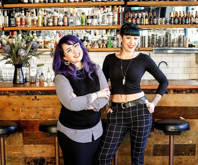 Mo Wyse and Shannon Martinez
