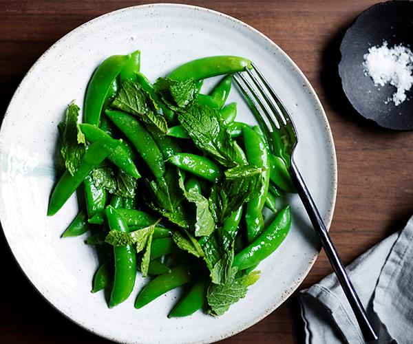"**[Capitano's sugarsnap pea ""scapece""](https://www.gourmettraveller.com.au/recipes/chefs-recipes/sugarsnap-pea-scapece-17022