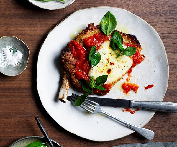 "**[Veal parmigiana](https://www.gourmettraveller.com.au/recipes/chefs-recipes/veal-parmigiana-17024|target=""_blank"")**   ""This is one of the most iconic dishes of the Italian-American, aka red-sauce joint, spread,"" says Wall. ""The Rolls-Royce of the menu, if you will."""