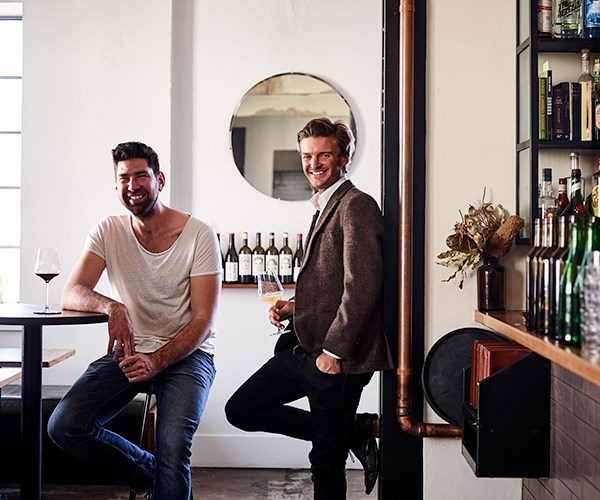 Bar Rochford's Louis Couttoupes and Nick Smith