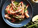 Vietnamese-style grilled prawns
