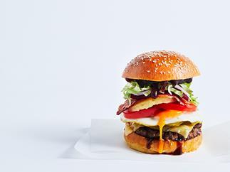 An Aussie burger