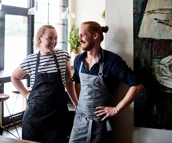 The Summertown Aristologist chefs Brianna Smith and Oliver Edwards