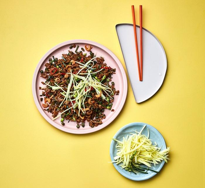 Kingdom of Rice's fried rice with dried shrimp