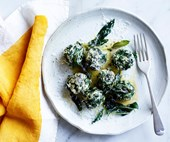 Rosetta's ricotta and silverbeet malfatti with sage burnt butter