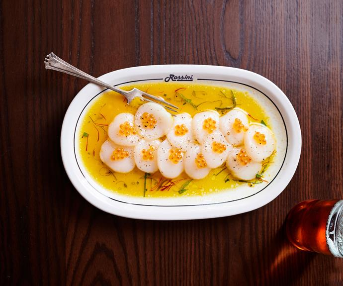 "**[Scallop crudo by Leonardo's Pizza Palace](https://www.gourmettraveller.com.au/recipes/chefs-recipes/scallop-crudo-17167|target=""_blank"")**"