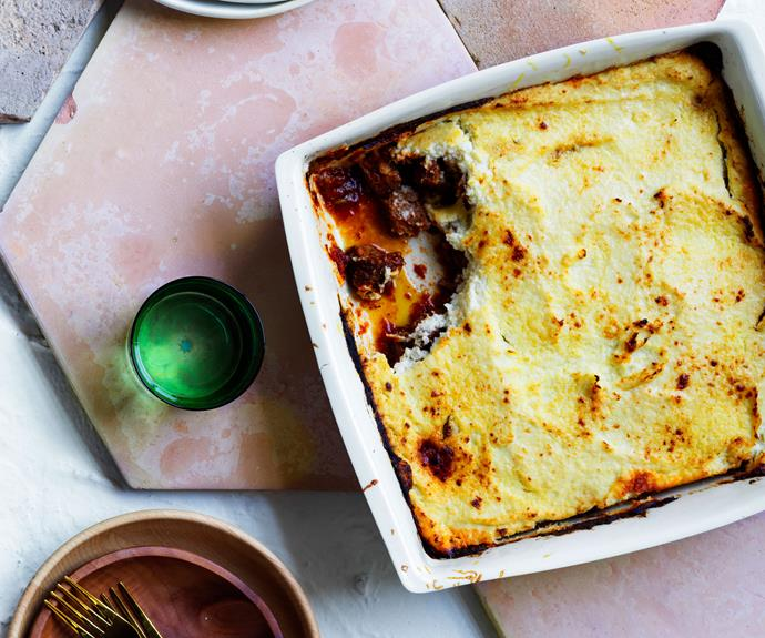 "**[A lamb and cauliflower ""shepherd's pie""](https://www.gourmettraveller.com.au/recipes/browse-all/shepherds-pie-lamb-cauliflower-17180