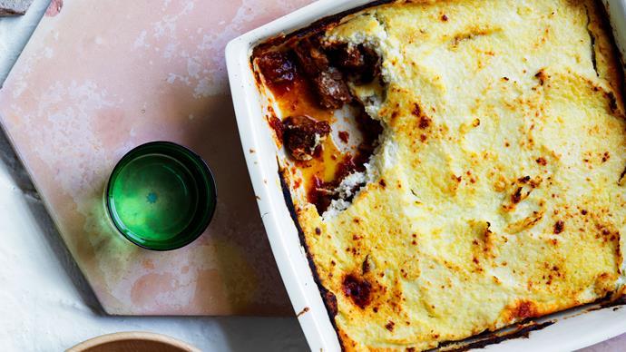 """A lamb and cauliflower """"shepherd's pie"""""""