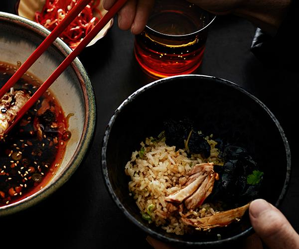 "[**Lee Ho Fook's Fujian-style scallop and spanner crab fried rice**](https://www.gourmettraveller.com.au/recipes/chefs-recipes/fujian-style-scallop-and-spanner-crab-fried-rice-8308|target=""_blank"")"