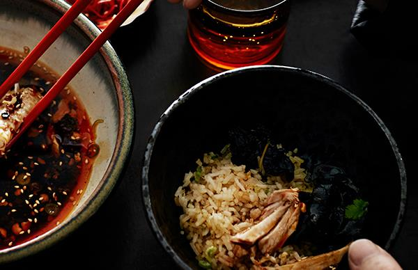 Fujian-style scallop and spanner crab fried rice