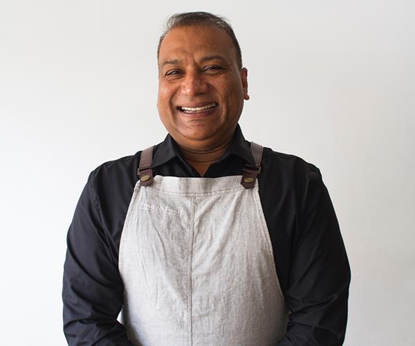 Free to Feed chef Shahid Burney
