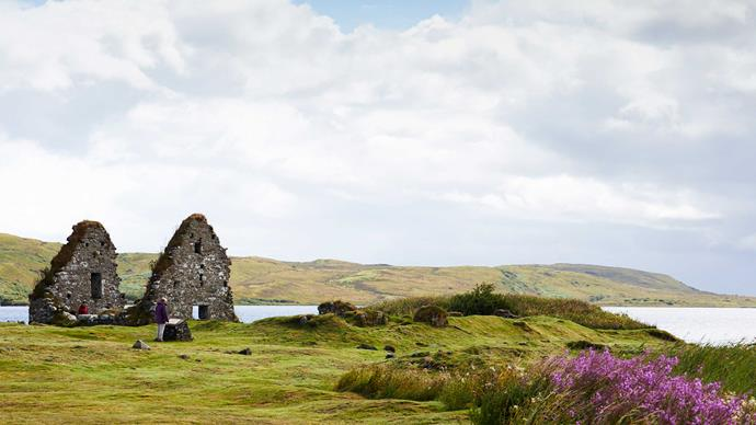 Scotland and its wild Hebridean islands