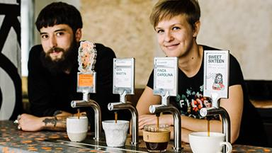 Single O raises the batch coffee bar