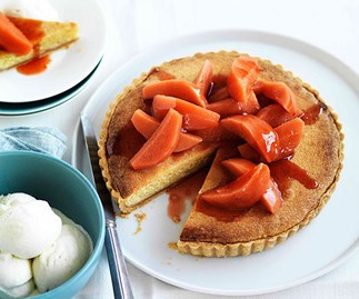 Quince and frangipane tart - quince recipes