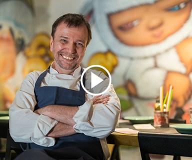 Watch: David Thompson on tattoos, placenta and Long Chim's new menus