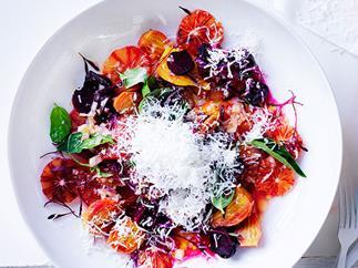 Roast beetroot and blood orange salad