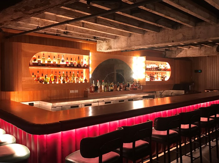 Sydney's Double Deuce Lounge is here. Almost.