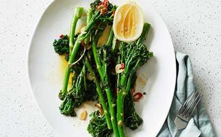 Broccolini with chilli, garlic and lemon