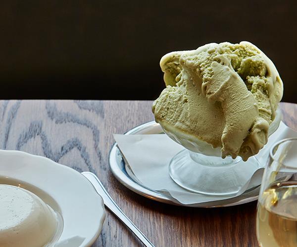 "**[Pistachio gelato by Alberto's Lounge](https://www.gourmettraveller.com.au/recipes/chefs-recipes/pistachio-gelato-17273|target=""_blank"")**"
