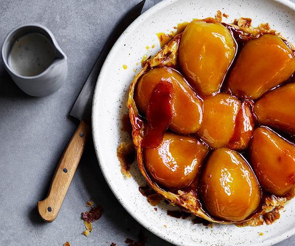 "**[Corella pear tarte Tatin](https://www.gourmettraveller.com.au/recipes/browse-all/corella-pear-tarte-tatin-16063|target=""_blank"")**"