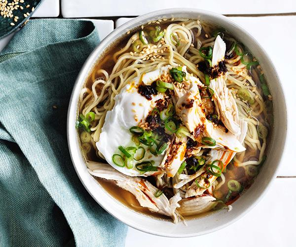 """**[13. Chicken and egg noodle soup with ginger and chilli](https://www.gourmettraveller.com.au/recipes/browse-all/chicken-and-egg-noodle-soup-with-ginger-and-chilli-12818