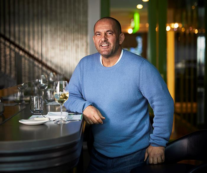 Guillaume Brahimi at Bistro Guillaume