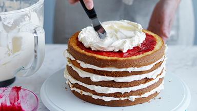 How to make a layer cake