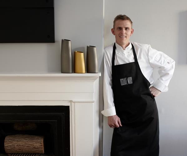 Oscillate Wildly's chef-owner Karl Firla.