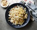 Celeriac and mushroom salad with parmesan