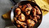 Chipotle-roasted chicken with  salsa verde