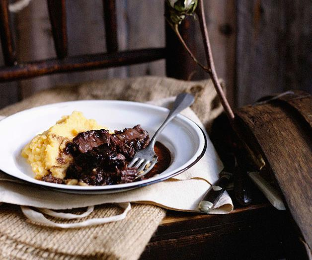 "**[Braised beef cheeks with creamed swede](https://www.gourmettraveller.com.au/recipes/browse-all/beef-cheeks-recipe-10074|target=""_blank"")**"