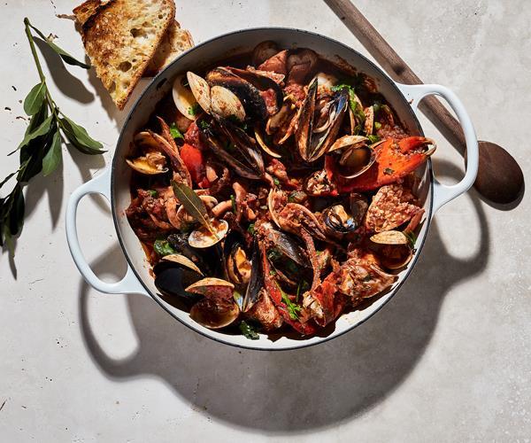 Garum fish stew