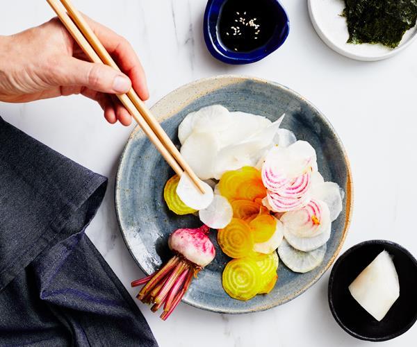Nukazuke, bran-fermented Japanese pickles