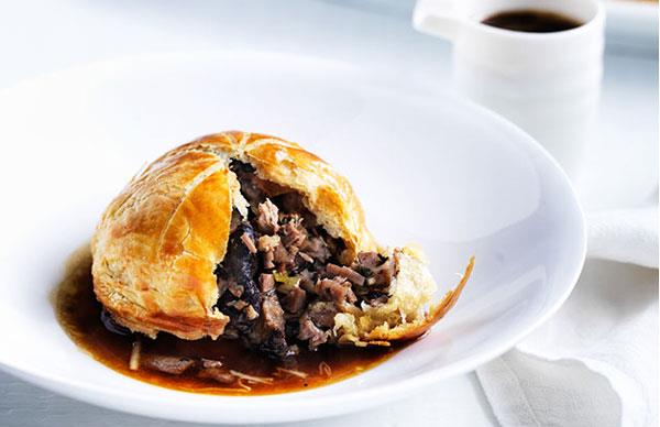 Christine Manfield's five-spice duck and shiitake pies
