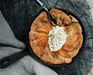 Analiese Gregory's walnut pudding with quince and fennel pollen