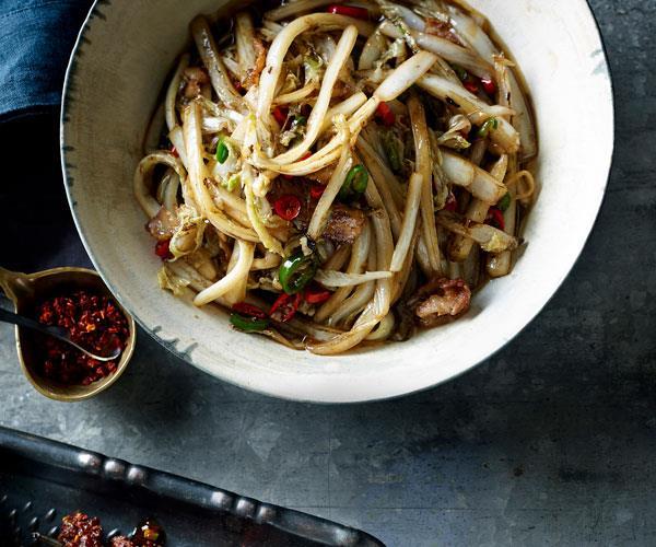 "**[Dainty Sichuan's wawa cabbage (chow wawa cai)](https://www.gourmettraveller.com.au/recipes/chefs-recipes/wawa-cabbage-chow-wawa-cai-7858|target=""_blank"")**"