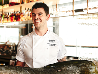 Stokehouse Q executive chef Oliver Hansford