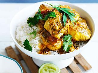Sri Lankan fish curry
